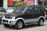 Perodua Kembara (front), Serdang