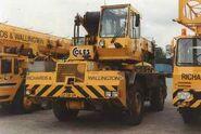 1980s Coles Ranger AT530 4X4 Yardcrane