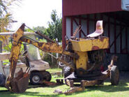 A 1960s Smalley minidigger