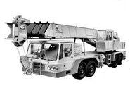 A 1990s ALLEN-GROVE Cranetruck TMS180