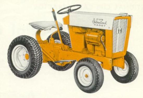 International Cub Cadet (original) | Tractor & Construction Plant Wiki |  FandomTractor & Construction Plant Wiki - Fandom