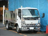 ISUZU ELF 5th Gerations (later model) with dress up parts