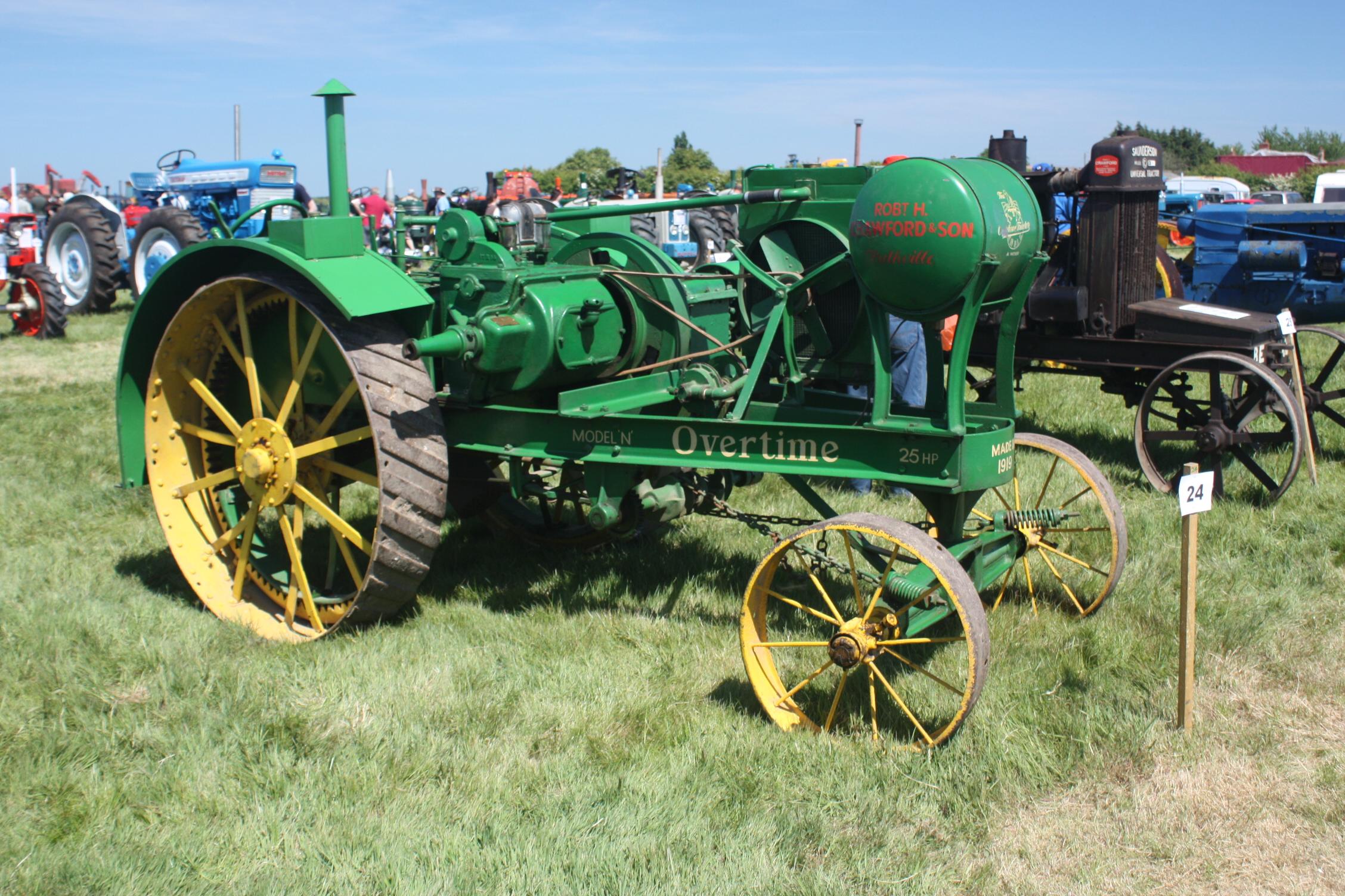 Overtime Tractors