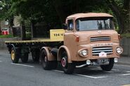 A 1960s LEYLAND Badger Haulage Tractor Diesel 4X2