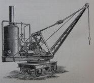 A 1890s Smith Of Rodley Steam Railway 15T Crane