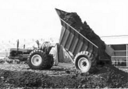 A 1960s Whitlock Brothers DD70 ADT Fordson tractor based