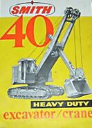 A 1960s Smith Of Rodley 40 Faceshovel Diesel
