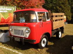 1958 Jeep model FC-150 with stake bed