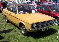 1976 Morris Marina in England