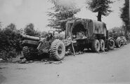 A 1940s Scammell Pioneer R100 Army Artillery Tractor