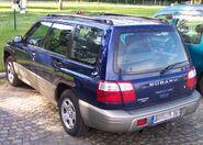 Subaru Forrester blue hl