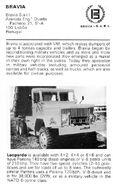 1986 BRAVIA Leopardo Dumptruck 6X6 TD