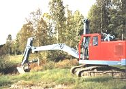 A 1970s Smith Of Rodley 26 Excavator Diesel
