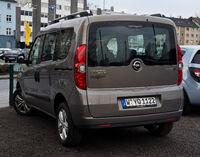 Opel Combo 1.6 CDTI Edition (D) – Heckansicht, 18. März 2012, Wuppertal
