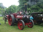 A 1920s Allen of Oxford Steamtraction Engine preserved