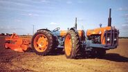 A 1960s DOE Triple D Super Major 4WD Tractor