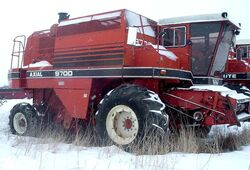 White 9700 Harvest Boss combine - 1982.jpg