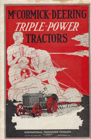 1928 Triple Power Tractor Booklet