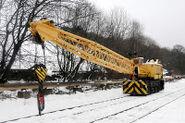 1970s Coles Gladiator Railway crane