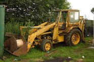 A 1980s Whitlock Brothers 505 Digger Loader Diesel