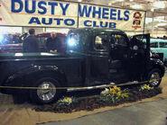 '47 fargo pickup w custom 3d door