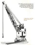 A 1970s Smith Of Rodley Railway Dieel Electric Crane