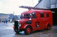 A 1930s LEYLAND Merryweather Fire Engine