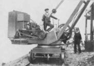 1910 Coles Steam Railcrane