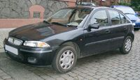 Rover 214 front 20071206