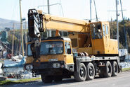 A 1980s Smith Of Rodley LT30 on AWD Vickers Cranetruck