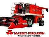 Massey Ferguson 8590 combine
