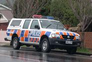 2001 Holden TF Rodeo (MY01) LX 4-door utility (New Zealand Police) 01