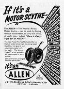 A 1950s Allen Of Oxford Motorscythe