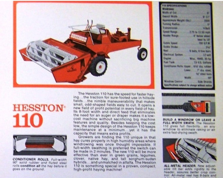 Hesston 110