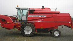 MF 22 combine (Sampo) - 1998.jpg