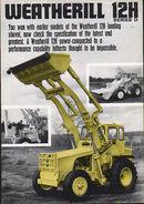 A 1970s Weatherill-12H Loader Diesel