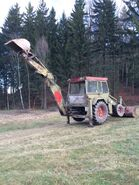 A 1970s Whitlock Brothers 370 Digger Loader