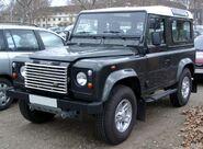 Land Rover Defender front 20080226