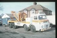 A 1970s LEYLAND Beaver Holmes Towtruck Diesel 8X4