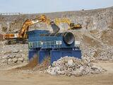 Liebherr R974 excavator