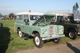 Land Rover S3 - TYJ 744M at NVTC rally 2011 - IMG 0579