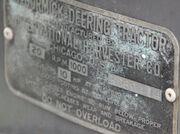 McCormick-Deering 10-20 sn KC69414 - plate - IMG 4257-cropped