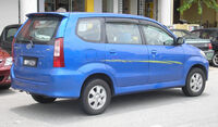 Toyota Avanza (first generation) (rear), Serdang