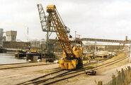 1980s Coles Gladiator Railcrane