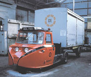 A 1960s Scammell Townsman with Delivery Boxtrailer