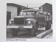 A 1950s MACK H9T Cargolorry Diesel