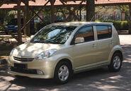 Perodua Myvi EZi original look 2006