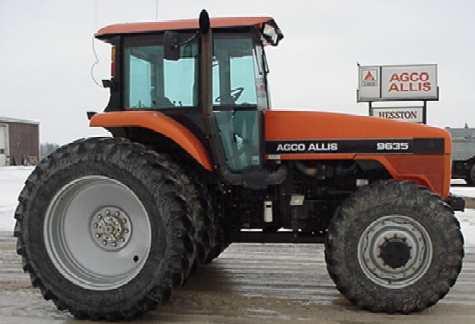 AGCO-Allis 9635