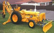 A 1960s Whitlock Brothers 110 Fordson Backhoe