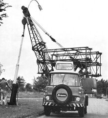JONES Fleetmaster on Bedford TK Cranecarrier